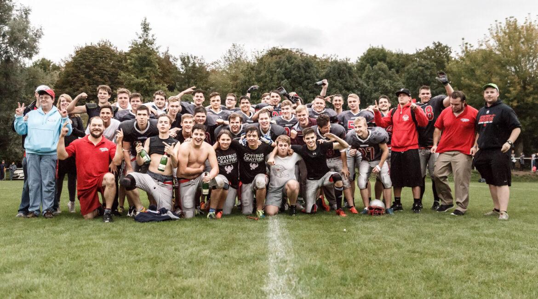 Young Crayfish feiern die Meisterschaft der Jugendoberliga in Jena